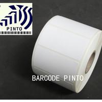 "50x30mm 1000pcs thermal gap3mm 1line core1"" label sticker barcode"