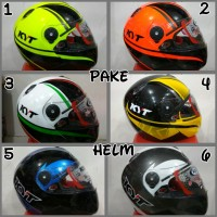 HELM KYT X ROCKET MOTIF #1 #2 BANYAK WARNA FULL FACE ROKET XROCKET