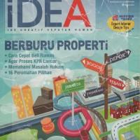 Harga Majalah Idea Okt Nov 2013 berburu properti | WIKIPRICE INDONESIA