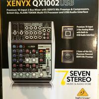 Behringer Xenyx Qx1002usb With Usb And Audio Interface / Klark Teknik