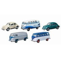 Jual Beli Miniatur Diecast Mobil Volkswagen Carwash Greenlight 5 Pc