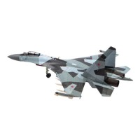 Jual Diecast Pesawat Tempur Militer Sukhoi Su 35 Super Flanker Camo
