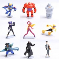 Jual Beli Action Figures Figurin Big Hero 6 Baymax 9set 11cm A1toys