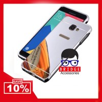 Bridgeacc! Bumper Mirror Case Samsung Galaxy J7 Prime