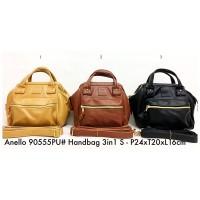 Tas Ransel Wanita Anello Backpack Handbag 3 in 1 sizs 90555 - 1