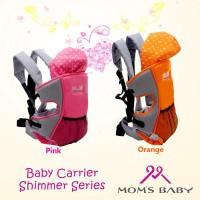 Moms Baby Shimmer Baby Carrier Gendongan Ransel Bayi MBG6201