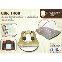 Chintaka Kasur Bayi Lipat Bordir + Kelambu CBK140800 Baru