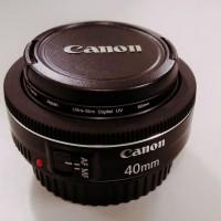 lensa canon 40 mm f2.8 stm (Pancake)