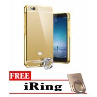 harga Casing Metal Bumper Mirror For Xiomi Redmi 4 A+ Free I Ring Tokopedia.com
