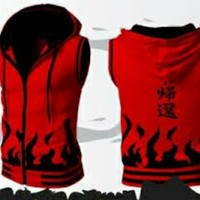 Rompi Naruto Vest Hoodie Naruto Hokage