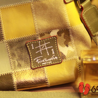 TAS PIERO TUCCI FORTUNATA 1#1 LIMITED PATCHWORK TOTE BAGS