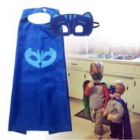 PJ Masks jubah+topeng+gelang - costume set