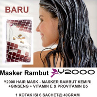 MASKER RAMBUT MINYAK KEMIRI DAN GINSENG - Y2000