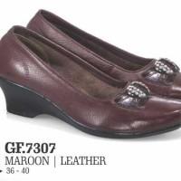 GF7307, Sepatu Formal Wanita Kulit Asli Cibaduyut