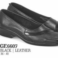 Jual GF6607, Sepatu Formal Wanita Kulit Asli Cibaduyut Murah
