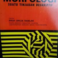 MORFOLOGI, Prof Drs M. Ramlan