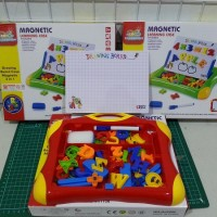 Magnetic Learning Case ( Drawing Board 2 in 1, ABC Angka )