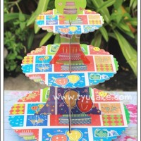 T-PARTY-3Tier CC Stand Karton