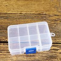 Jual SB051 Storage Box 8 Grid Kotak Jewelry Medicine Clay Organizer Kotak Murah