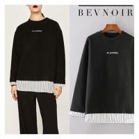 Atasan Sweater Hitam Wanita Bevnoir