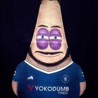 Atasan Baju Kaos Bola Hitam Patrick Hazard Gigglestruggle