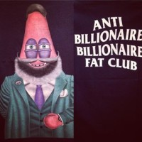 Atasan Baju Kaos Bola Billionaire Fat Club Gigglestruggle