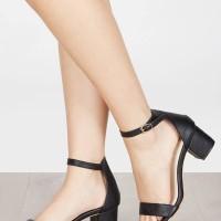 Sepatu Heels Kylie Black Vimemo