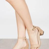 Sepatu Heels Kylie Nude Vimemo