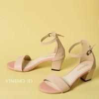 Sepatu Heels LUMIERE CREAM PINK Vimemo