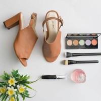 Sepatu Heels Lucy Brown Vimemo