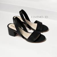 Sepatu Heels MISCHA BLACK Vimemo