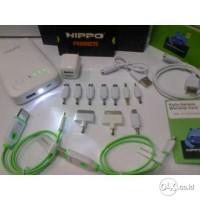powerbank hippo minca 11200 mah / 11.200mAh kabel teleport