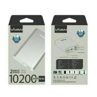 Powerbank Vivan M10 10200mAh Dual Output Original By Vivan