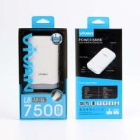 Power Bank Vivan L8 7500mah + Body LED | Garansi Resmi 1 Tahun