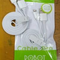 Kabel Vivan Robot RDL100 / Kabel Data 100CM for iPhone 5 & 6