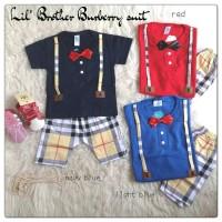 Tuxedo Bayi Burberry / Baju Baby