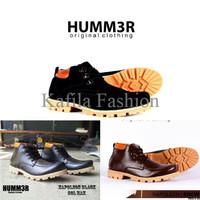Harga Promo Sepatu Boots Humm3r Touring Adventure Hitam Coklat Brown P