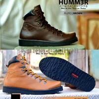 Harga Promo Sepatu Boots Humm3r Touring Motor Brown Coklat Tan Murah