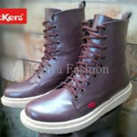 Harga Promo Sepatu Boots Kickers Women Wanita Touring Motor 9 Hold / 9