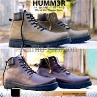 Harga Promo Sepatu Reseleting Boots Humm3r Sleting Adventure Motor Bro