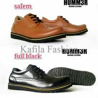 Harga Promo Sepatu Casual Tali Humm3r Semi Boots Kerja Pria Formal Hit