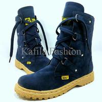 Harga Promo Sepatu Boots Women Wanita Pichboy Original Handmade Hitam
