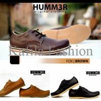 Harga Promo Sepatu Semi Boots Humm3r Casual Kerja Pria Kantoran Formal