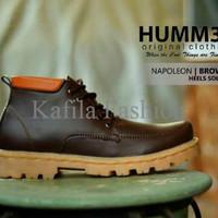 Harga Promo Sepatu Boots Humm3r Kerja Touring Adventure Hitam Coklat T