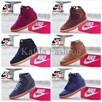 Harga Promo Sepatu Nike Wedges Sneakers Boots Women Wanita Pink Full P