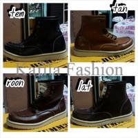 Harga Promo Sepatu Boots Dondhicero Original Leather Premium Sneakers