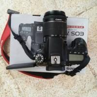 Camera Canon DSLR Eos 70D + kit Lensa 18-55mm New