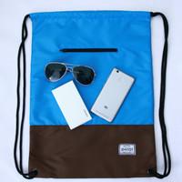 Jual Tas Serut Envist Primero String Bag - Light Blue Murah