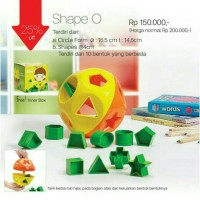 Tupperware Shape O Toys
