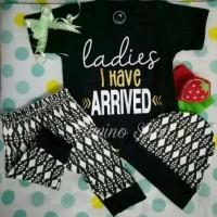 kaos bayi/anak, baju/pakaian setelan ladies